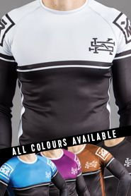 Scramble BJJ Ranked Rashguard - All Colours