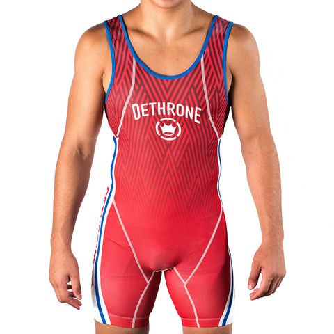 Dethrone Wrestling Singlet - All Colours