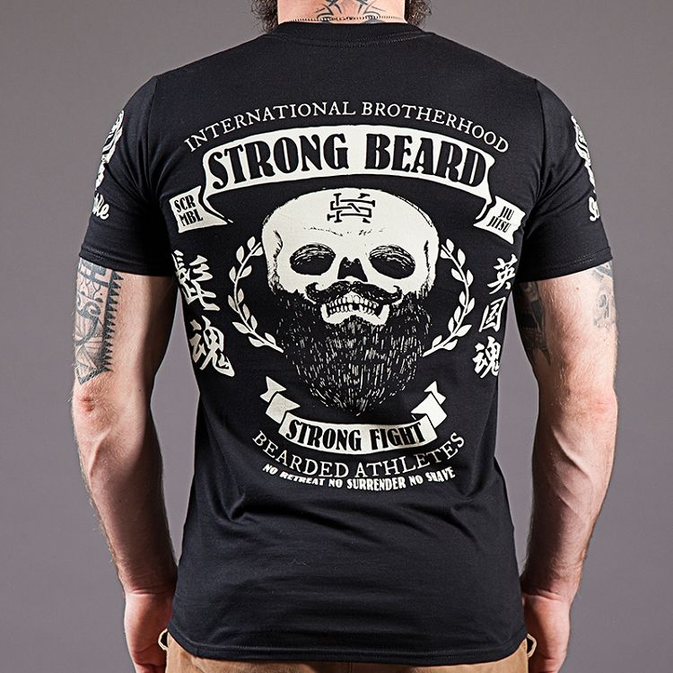 Scramble Strong Beard Tee