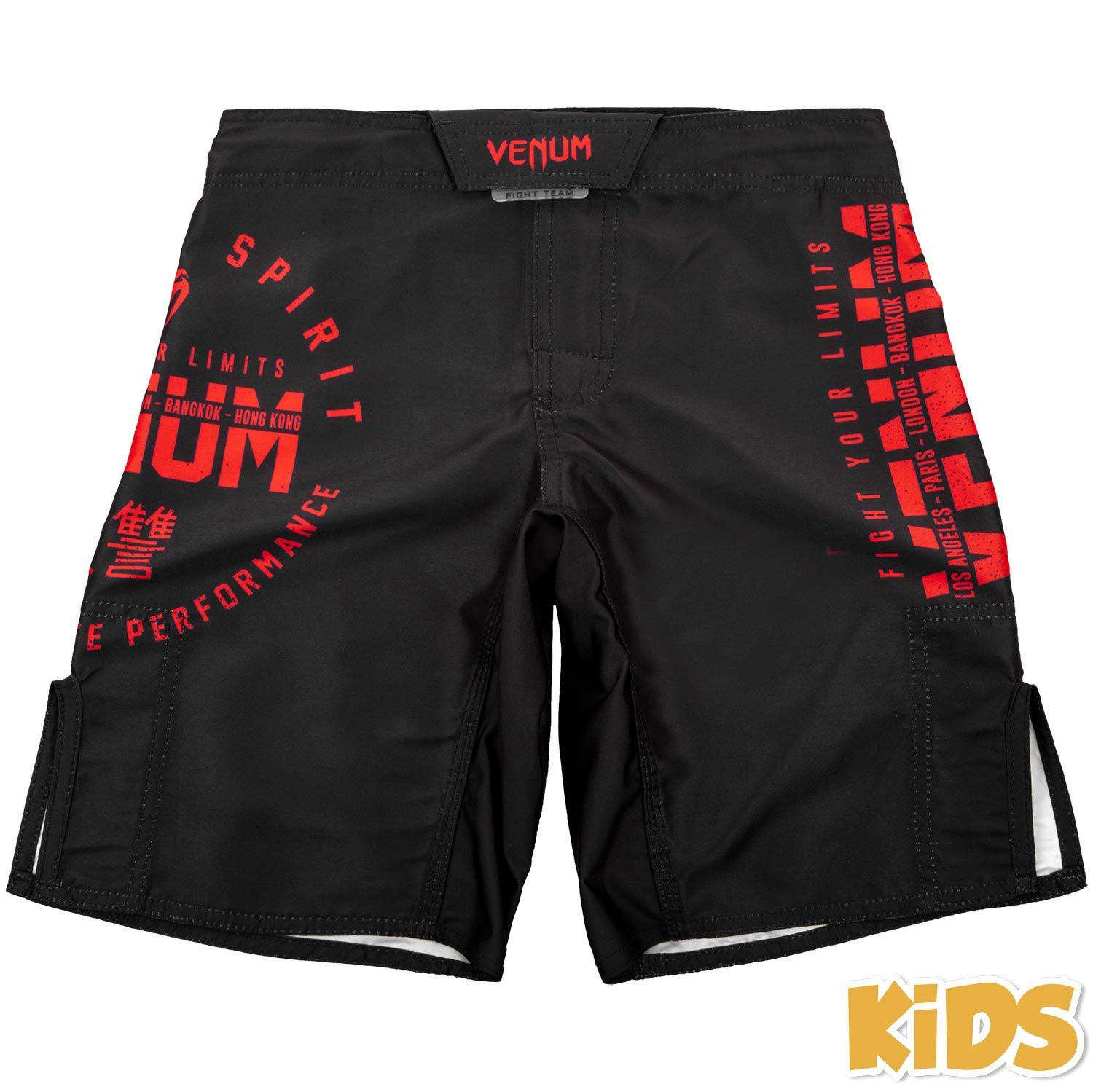 Venum Kids Signature Shorts (Black / Red)