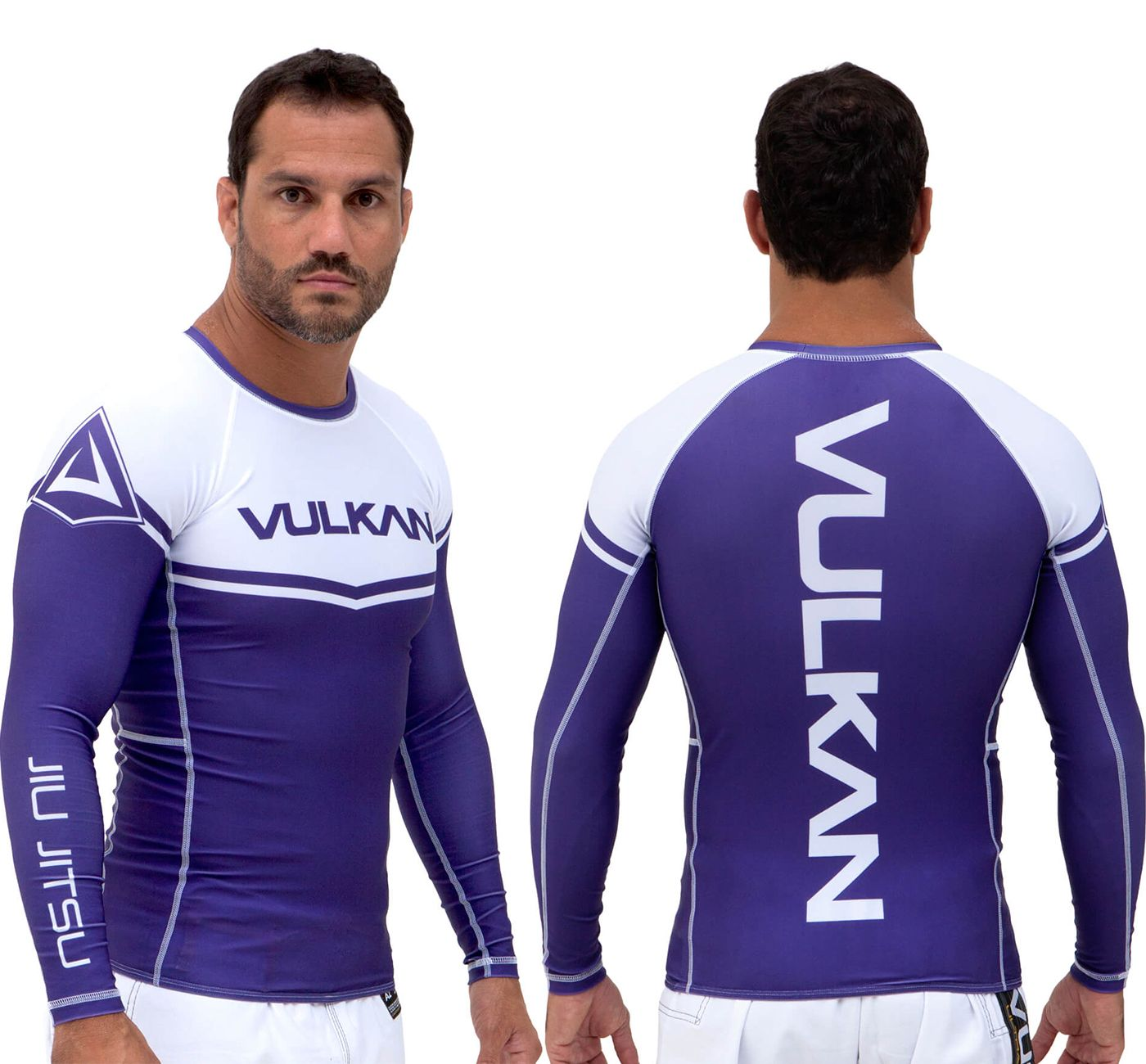 Vulkan Ranked Rashguard - Purple - LS
