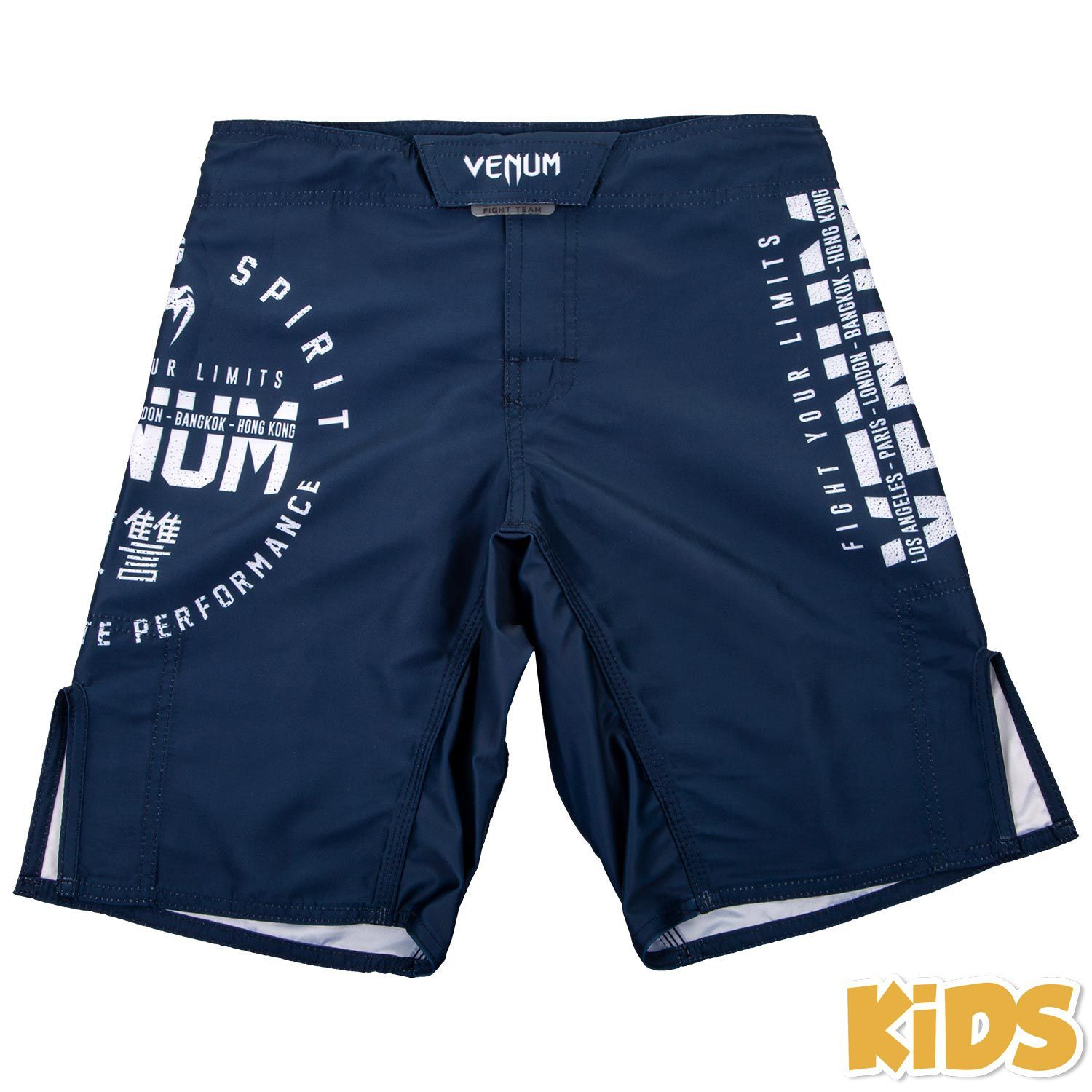 Venum Kids Signature Shorts (Navy Blue)